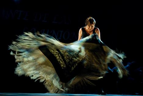 Die Tänzerin Blanca del Rey beim Festival Suma Flamenca. Foto: www.madrid.org/sumaflamenca